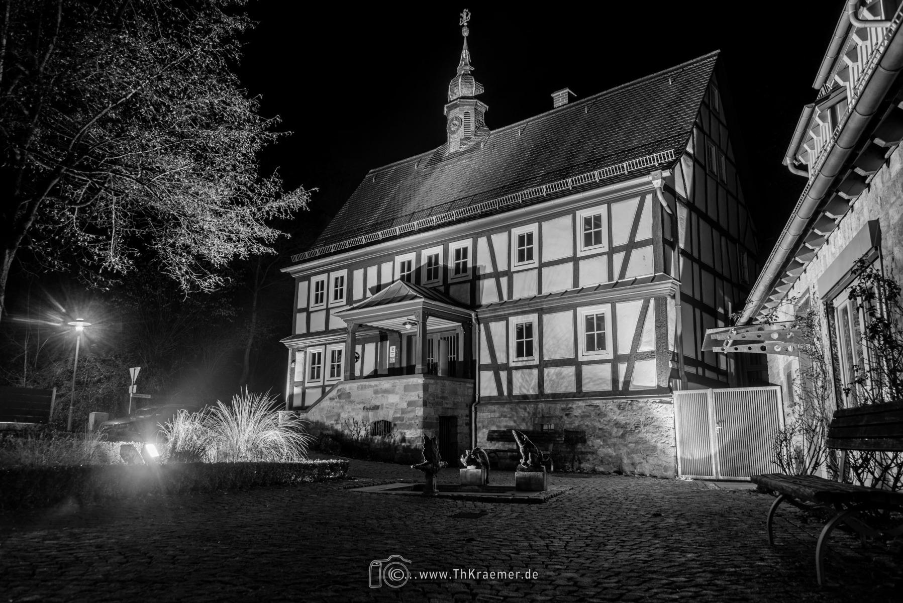 Rathaus in Sailauf  D75_1930-HDR-2