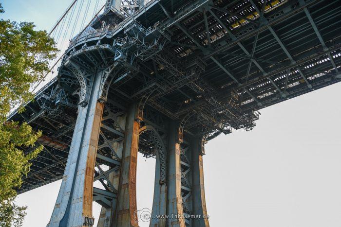 Manhatten Bridge, Dumbo, Sehenswürdigkeit. New York