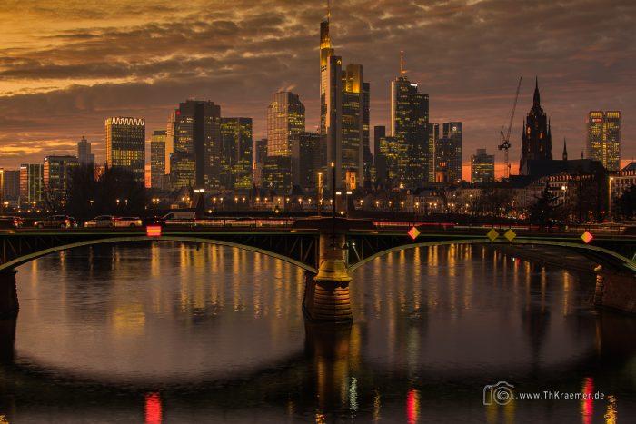 Frankfurt, City, Skyline