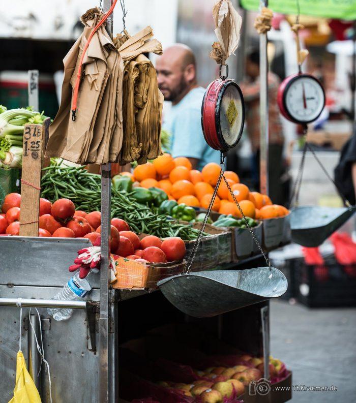 New York - Chinatown Wochenmarkt