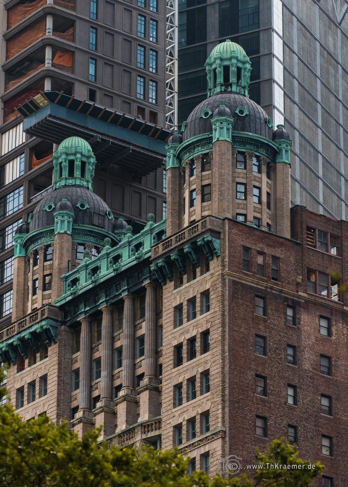 Penthouse, New York, Paläste, Dächer, Dachvillen, Kupferdächer, verzierungen