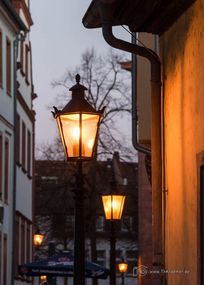 Aschaffenburg, Lampen, Schlossgasse