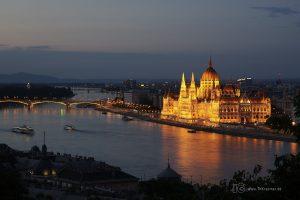 Budapest Nachtaufnahme